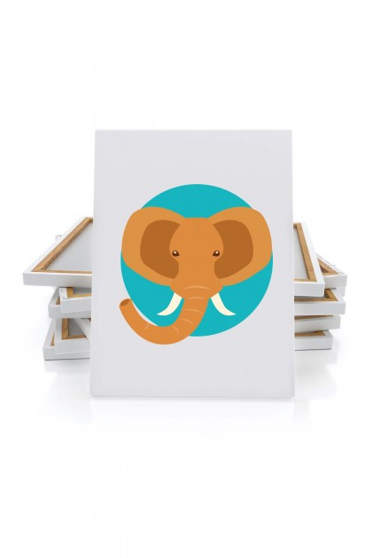Canvas Elephant