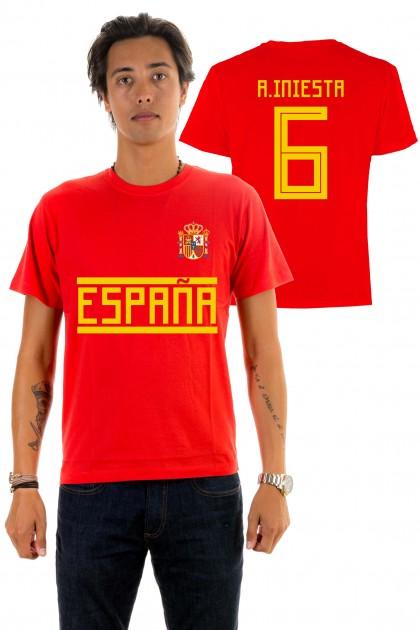 T-shirt World Cup 2018 - España, A. Iniesta 6