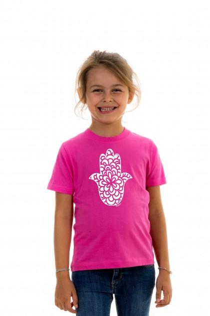T-shirt kid Fatima hand