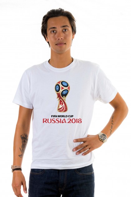T-shirt World Cup 2018 in Russia