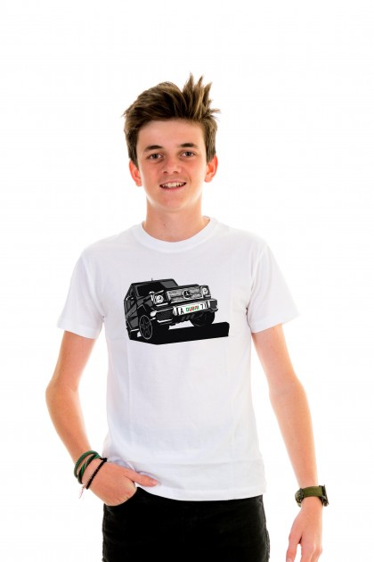 T-shirt Kid Mercedes G Class Dubaï