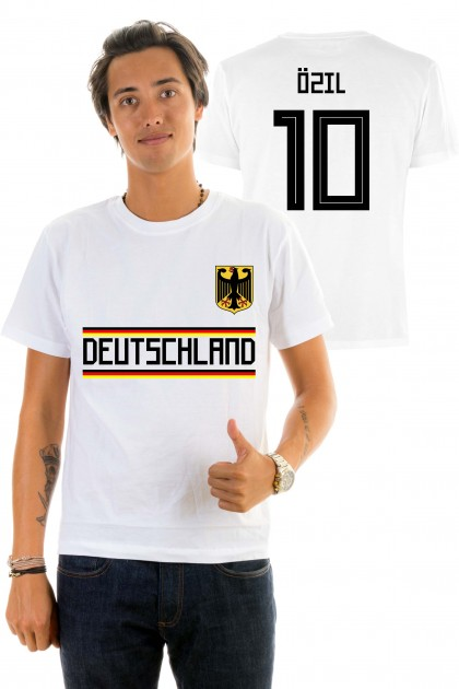 T-shirt World Cup 2018 - Deutchland, Ozïl 10