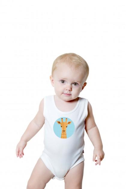 Baby romper Giraffe