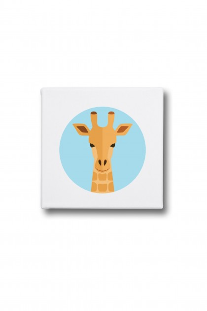 Canvas Giraffe