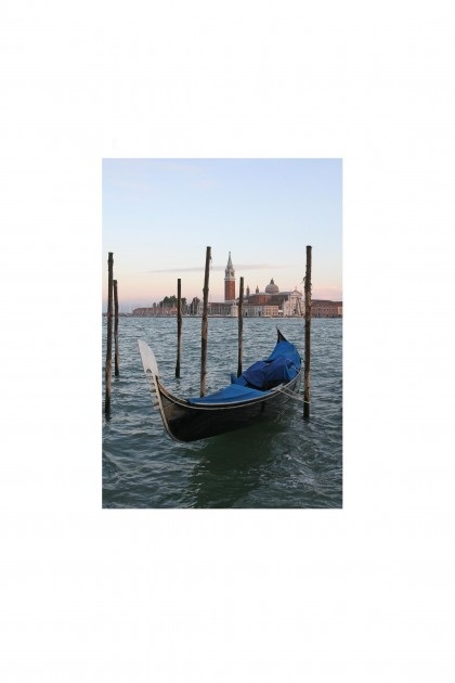 Poster Gondola Of Venice - Italy - By Emmanuel Catteau
