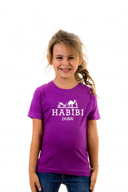 T-shirt kid Habibi Dubaï