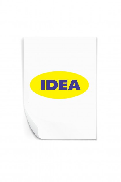 Reusable sticker IDEA