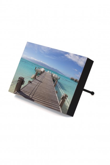 Frame to go Jetty in Moorea - French Polynesia By Emmanuel Catteau