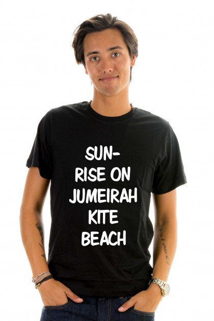 T-shirt Sunrise on Jumeirah kite beach