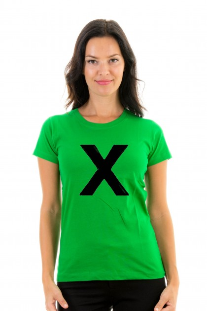 T-shirt Ed Sheeran - X