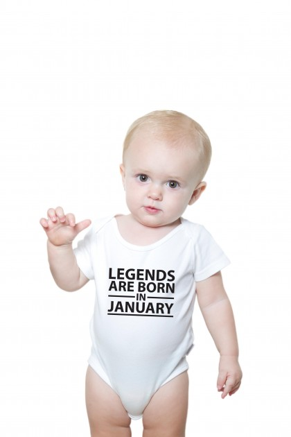 Baby romper Legends Are Born
