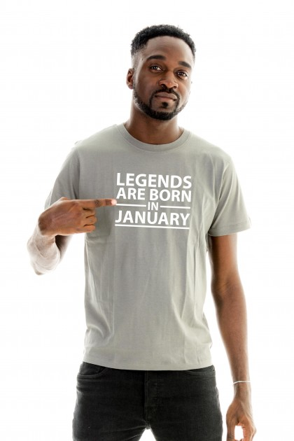 T-shirt Legends Are Born