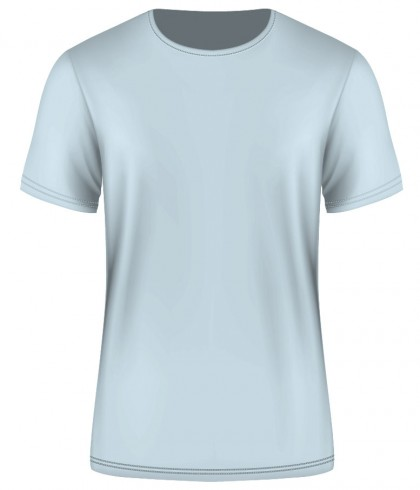 Tshirt Factory Premium for Custom - Ladies LIGHT BLUE - Starting 85 AED