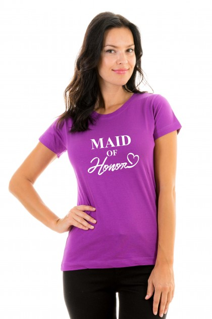T-shirt Maid of honor