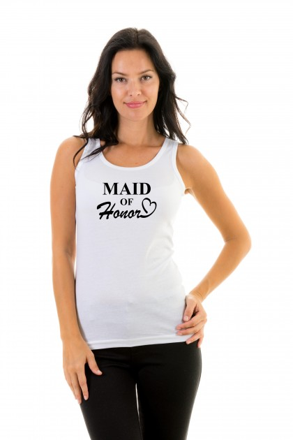 Tanktop Maid of honor