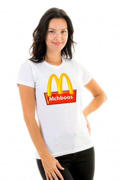T-shirt Mchboos
