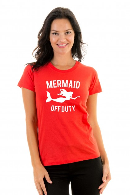 T-shirt Mermaid off duty
