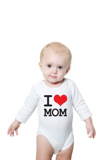 Baby romper I Love MOM