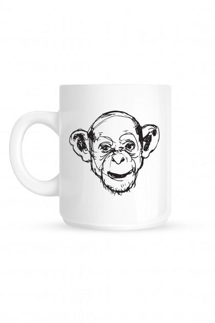 Mug Monkey Illustration