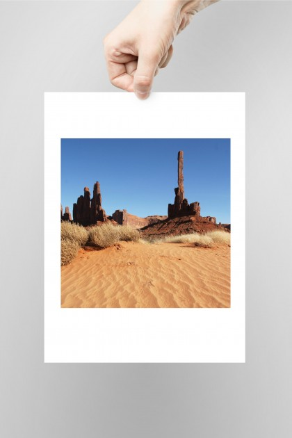 Poster Monument Valley - USA By Emmanuel Catteau