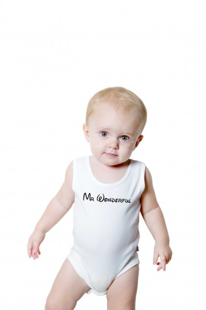 Baby romper Mr. Wonderful
