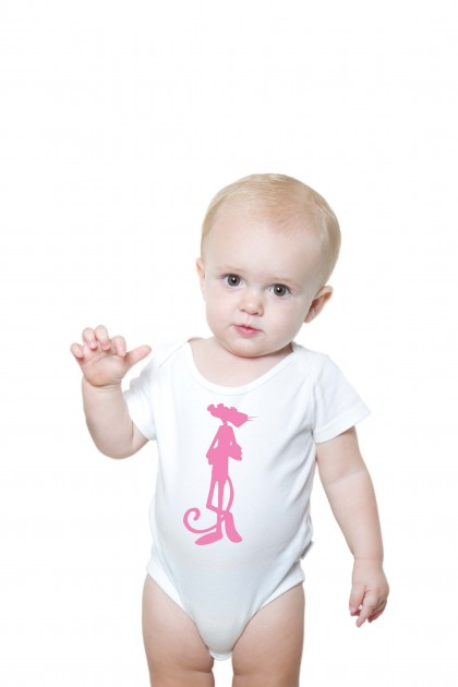 Baby romper Pink Panther