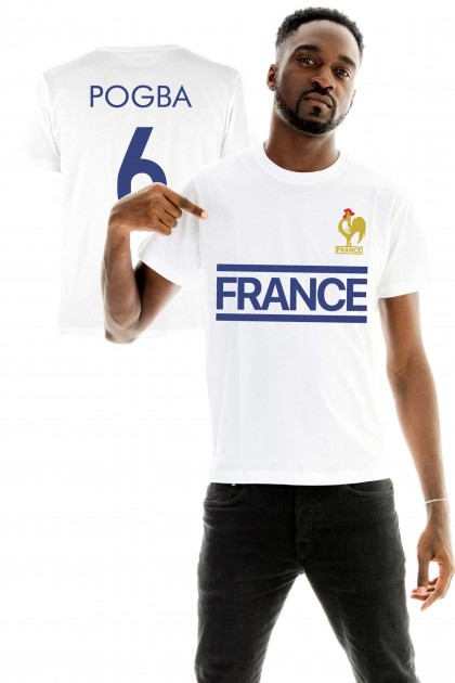 T-shirt World Cup 2018 - France, Pogba 6