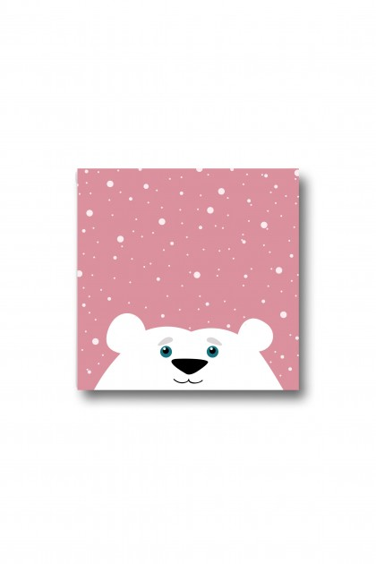 Canvas Polar Bear