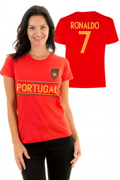 T-shirt World Cup 2018 - Portugal, Ronaldo 7