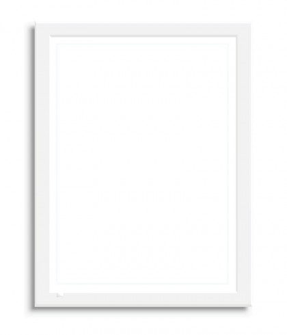 Poster with frame for Custom - A4 WHITE - 95 AED