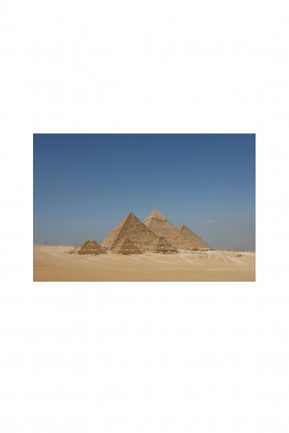 Poster Pyramids of Giza - Egypt By Emmanuel Catteau