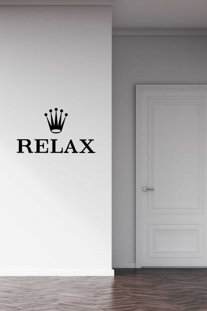 Vinyl wall sticker Relax