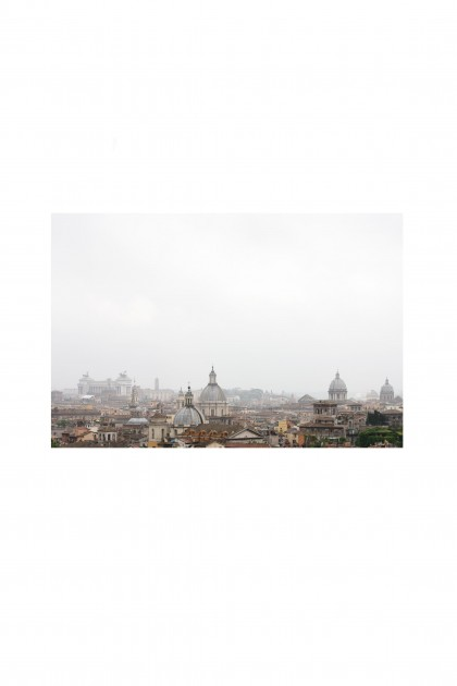 Poster Rooftop - Roma - By Emmanuel Catteau