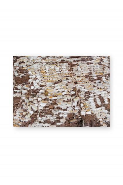 Poster Salt Ponds of Maras - Peru - By Emmanuel Catteau