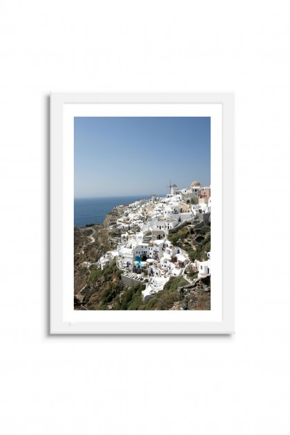Poster with frame Santorini - Greece By Emmanuel Catteau