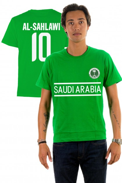T-shirt World Cup 2018 - Saudi Arabia, Al-Sahlawi 10
