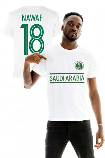 T-shirt World Cup 2018 - Saudi Arabia, Nawaf 18