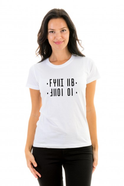 T-shirt Shut Up - Hidden Message