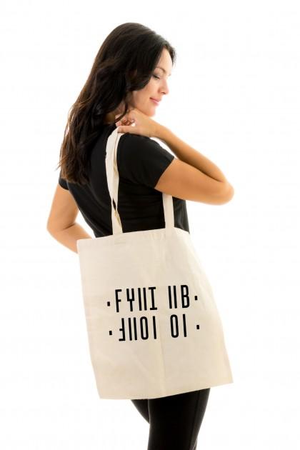 Tote bag Shut Up - Hidden Message