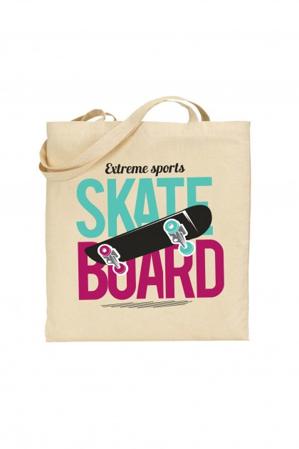 Tote bag Extreme Sports: Skateboard