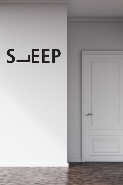 Vinyl wall sticker Sleep