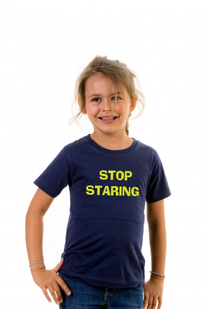 T-shirt kid Stop Staring