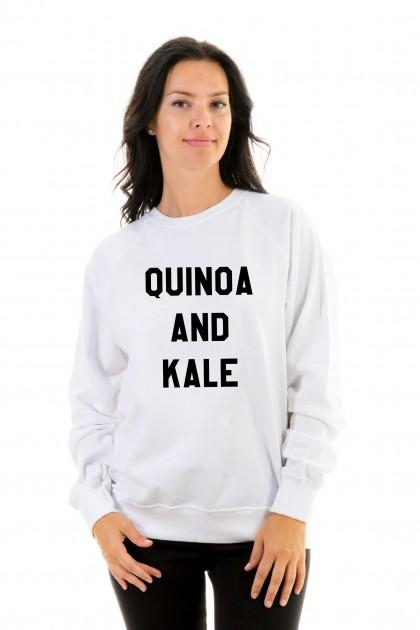 Sweatshirt Quinoa and kale