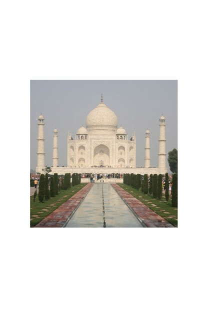 Poster Taj Mahal - India - By Emmanuel Catteau