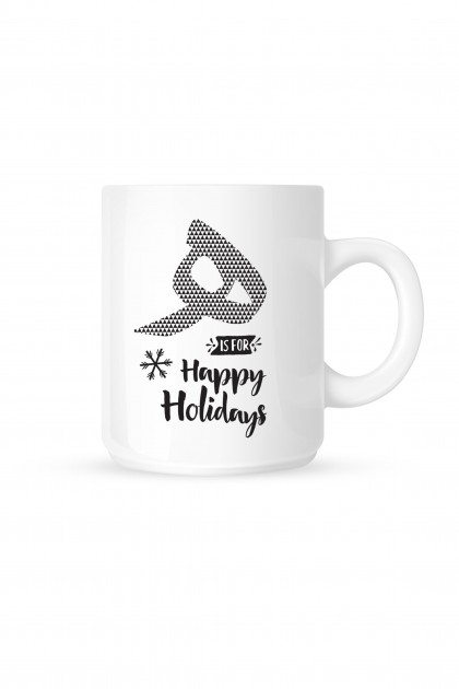 Mug The Little Bulbul - Happy Holidays