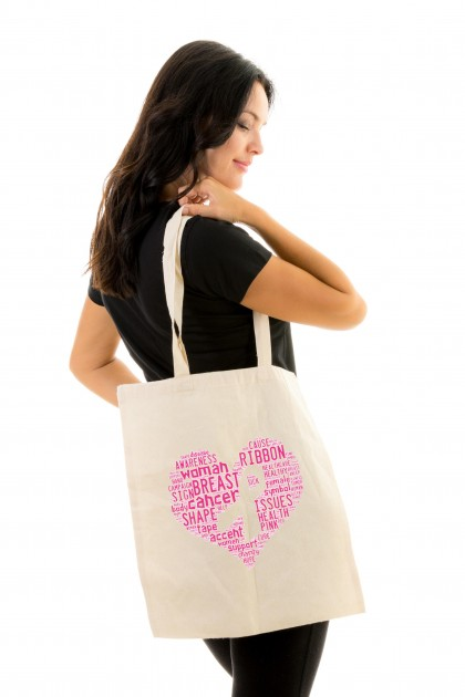 Tote bag Pink Ribbon