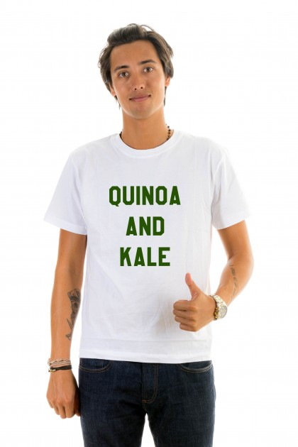 T-shirt Quinoa and kale