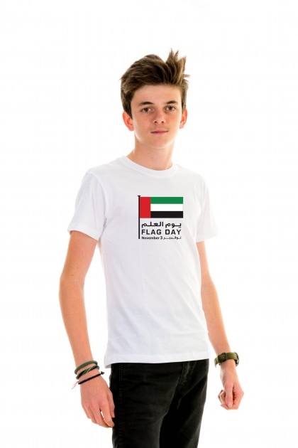 T-shirt Kid UAE Flag Day - November 3