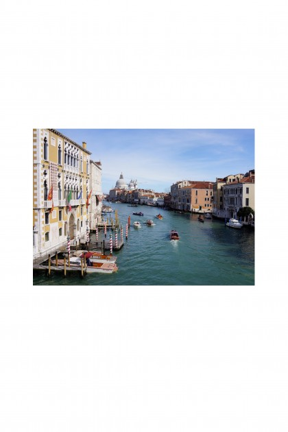 Poster Venice Canal - Italy By Emmanuel Catteau