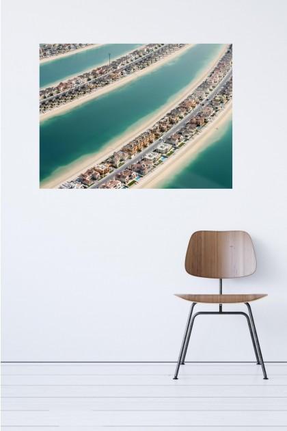 Canvas Palm Jumeirah Close Up - Dubai - UAE By Emmanuel Catteau